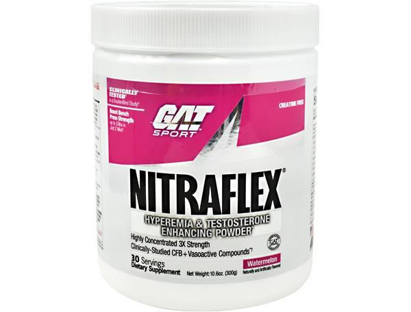 GAT Sport Nitraflex Pre-Workout Watermelon 30 Servings product image