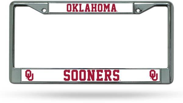 Rico Oklahoma Sooners Chrome License Plate Frame product image