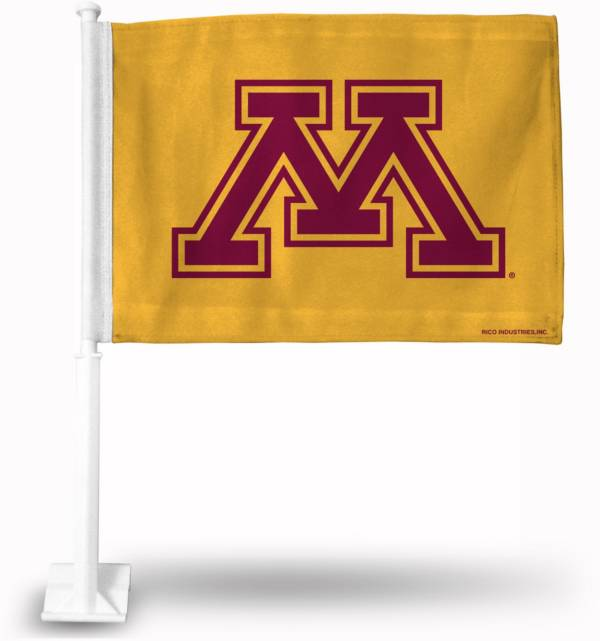 Rico Minnesota Golden Gophers Car Flag product image