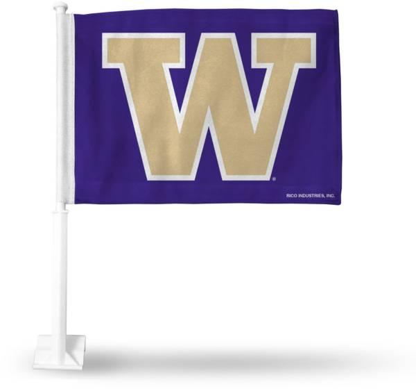 Rico Washington Huskies Car Flag product image