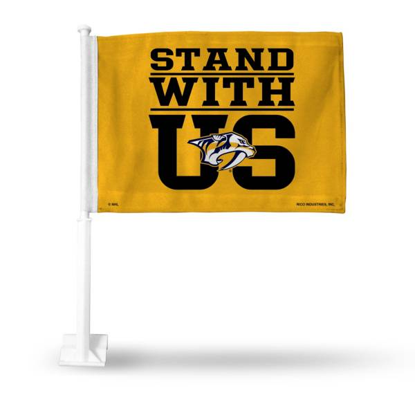 Rico Nashville Predators Rally Car Flag product image