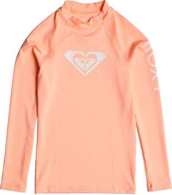 Roxy Girl's Whole Hearted Long Sleeve Rash Guard product image