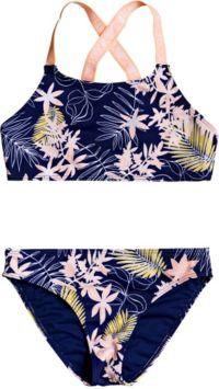 Roxy Girls' Bikini Point Crop Top Set | DICK'S Sporting Goods