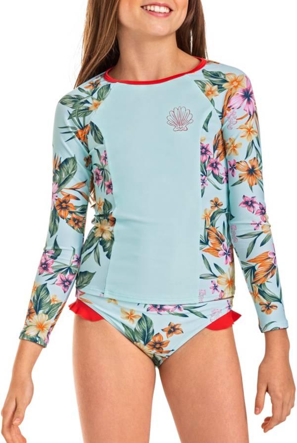 Roxy Girls' Heritage Flora Long Sleeve Rash Guard product image