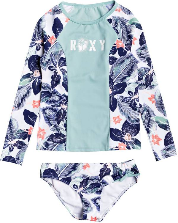 Roxy Girls' Fashion Long Sleeve Rash Guard Set product image