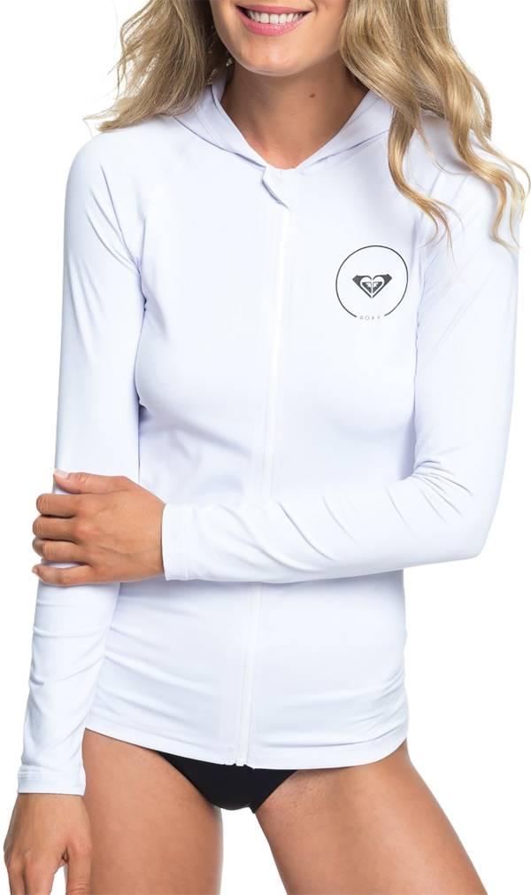 Roxy Women's Essential Zipped Hooded Long Sleeve Rash Guard product image