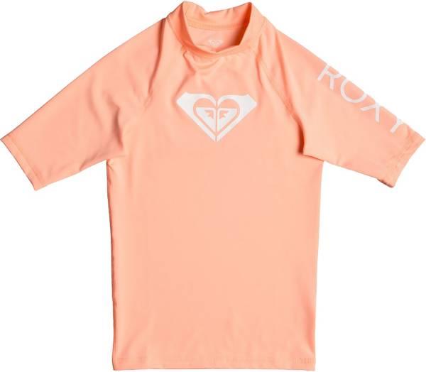 Roxy Girls' Whole Hearted Short Sleeve Rash Guard product image