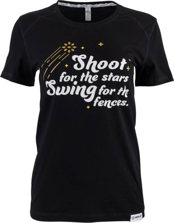 "RIP-IT Women's ""Shoot for the Stars"" Graphic Softball T-Shirt product image"