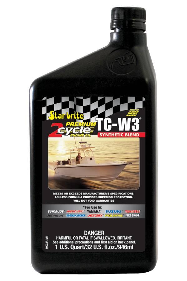 Star brite Premium 2-Cycle TC-W3 Engine Oil – 32 oz. product image
