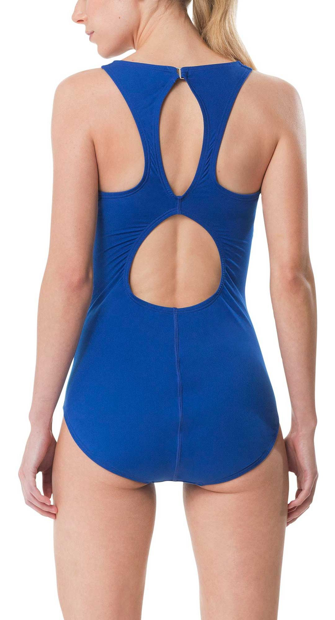 04372affe2 Speedo Women's Zip High Neck Swimsuit   DICK'S Sporting Goods