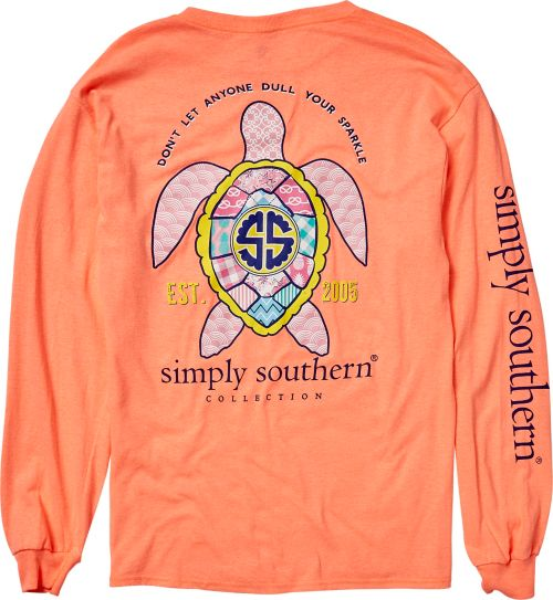 2889893e4f9 Simply Southern Women s Sparkle Long Sleeve Shirt. noImageFound. Previous