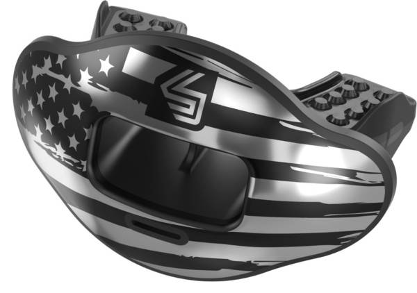Shock Doctor Max AirFlow 2.0 US Flag Convertible Lip Guard product image