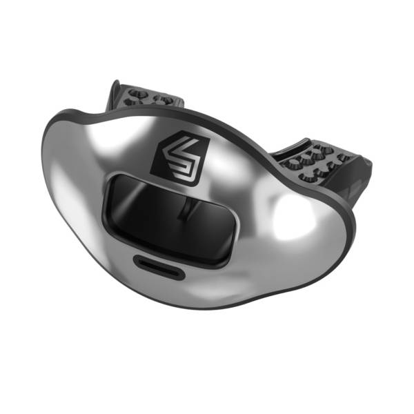 Shock Doctor Max AirFlow 2.0 Chrome Convertible Lip Guard product image
