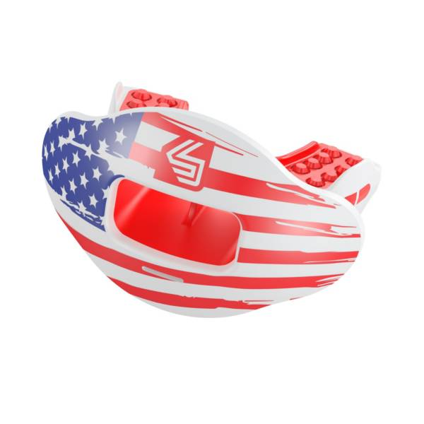 Shock Doctor Max AirFlow 2.0 Flag Convertible Lip Guard product image