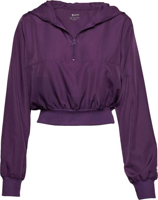 Soffe Girls' Squad 1/4 Zip Hoodie product image