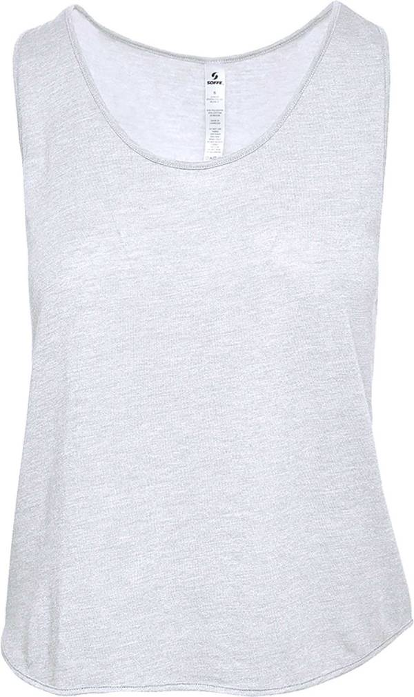 Soffe Junior Girls' Dance Crop Tank Top product image