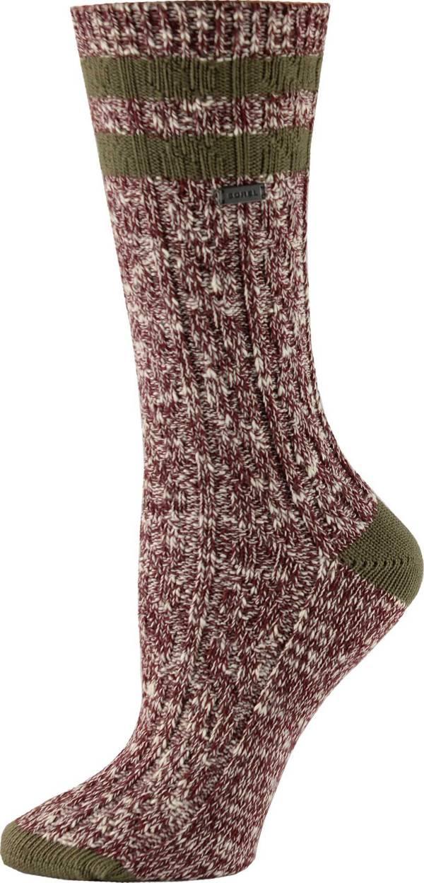 SOREL Women's Cotton Varsity Stripe Crew Socks product image