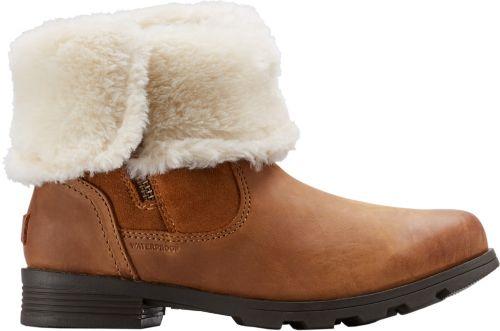 5de28434318c SOREL Women s Emelie Fold-Over Waterproof 100g Winter Boots. noImageFound.  Previous