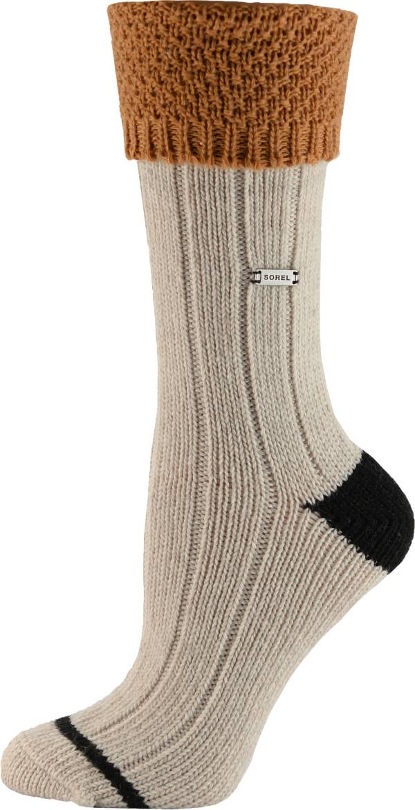 Sorel Women's Wool Turn Over Cuff Crew Socks product image