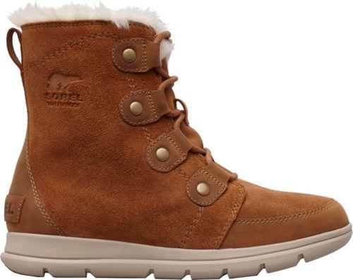 efd031dc83d1 SOREL Women s Explorer Joan 100g Waterproof Winter Boots