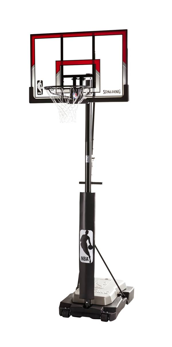"""Spalding® NBA 44"""" Acrylic Ultimate Hybrid® Jr. Quick Glide™ Portable Hoop System product image"""