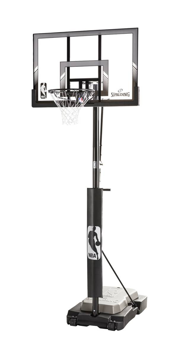"""Spalding® NBA 48"""" Acrylic Ultimate Hybrid® Jr. Quick Glide™ Portable Hoop System product image"""
