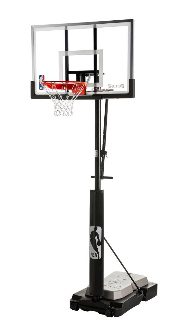 """Spalding® NBA 50"""" Acrylic Ultimate Hybrid® Jr. Quick Glide™ Portable Hoop System product image"""