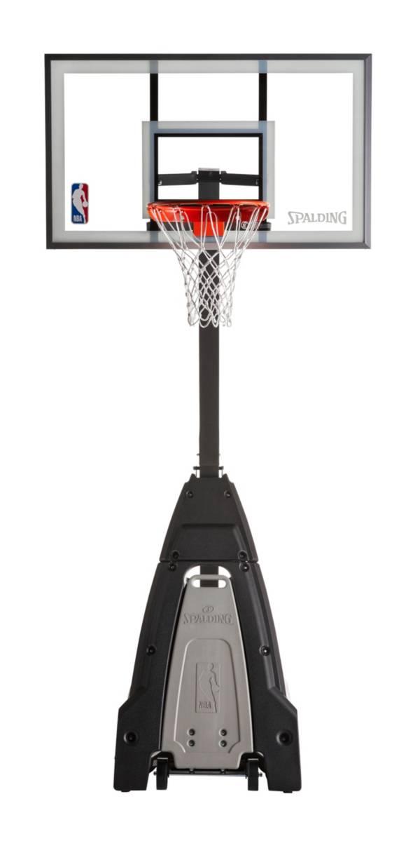"Spalding NBA Beast 54"" Glass Portable Basketball Hoop product image"