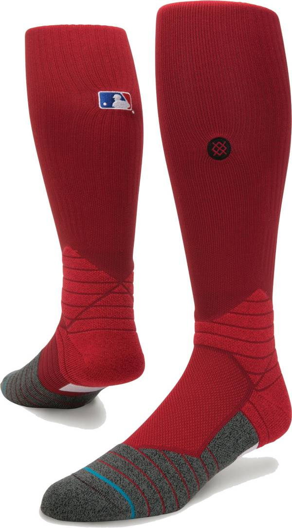 Stance MLB Diamond Pro On-Field Dark Red Sock product image