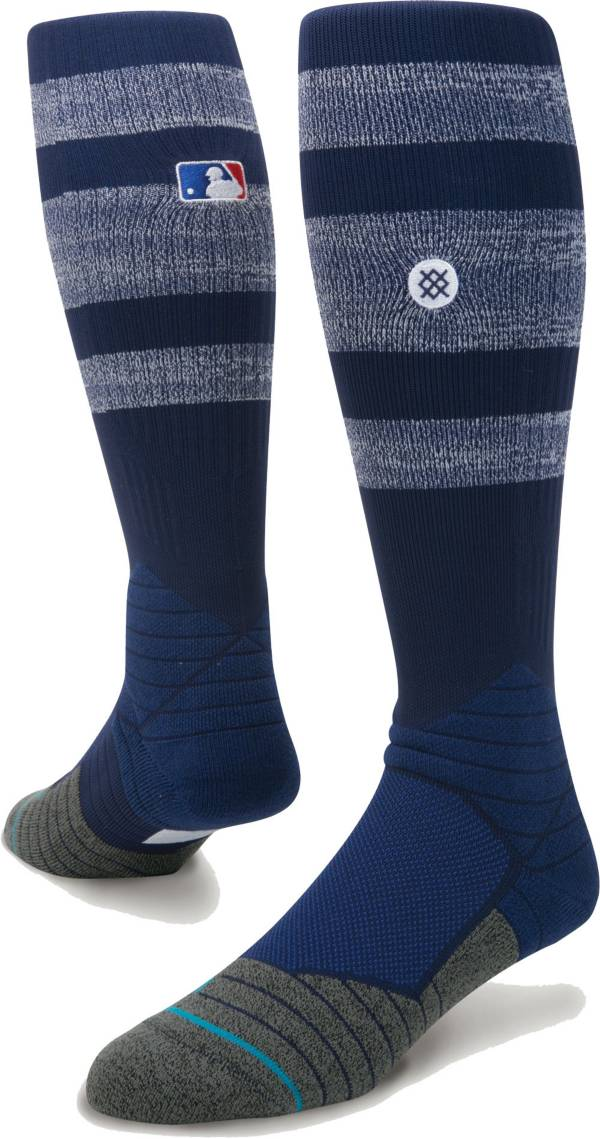 Stance MLB Diamond Pro On-Field Striped Navy Sock product image