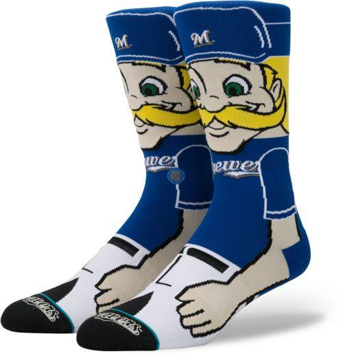 67b14114428 Stance Milwaukee Brewers Mascot Crew Socks