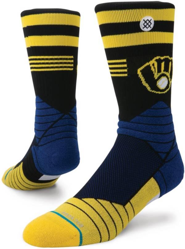 Stance Milwaukee Brewers Diamond Pro Crew Socks product image