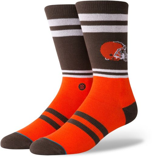 cleveland browns youth socks