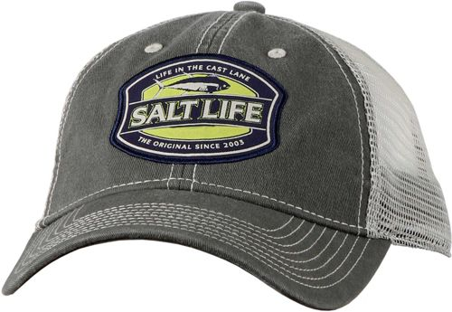 06ba8eb536ea9 Salt Life Men s Life in the Cast Lane Mesh Back Trucker Hat 1