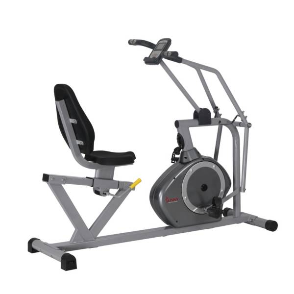 Sunny Health & Fitness SF-RB4708 Cross-Training Magnetic Recumbent Bike product image