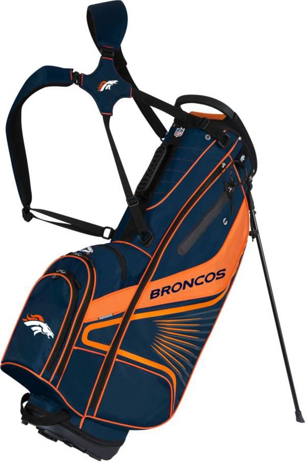Team Effort Denver Broncos Gridiron III Stand Golf Bag product image