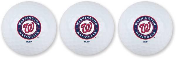 Team Effort Washington Nationals Golf Balls - 3 Pack product image
