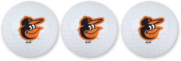 Team Effort Baltimore Orioles Golf Balls - 3 Pack product image