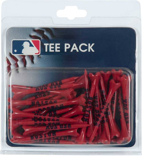"""Team Effort Boston Red Sox 2.75"""" Golf Tees - 40 Pack product image"""