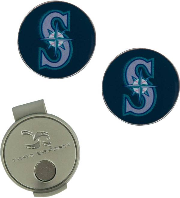 Team Effort Seattle Mariners Hat Clip and Ball Markers Set product image