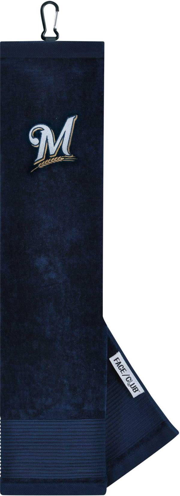 Team Effort Milwaukee Brewers Embroidered Face/Club Tri-Fold Towel product image