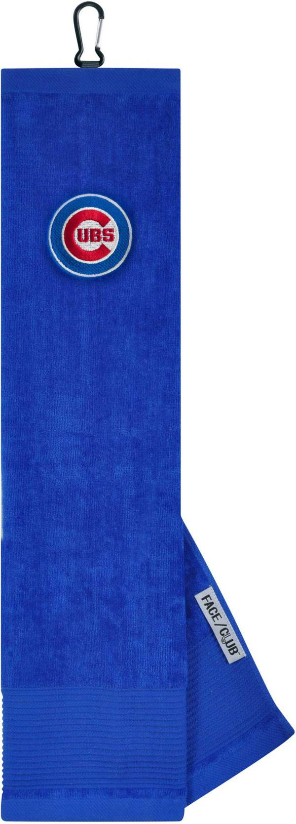 Team Effort Chicago Cubs Embroidered Face/Club Tri-Fold Towel product image