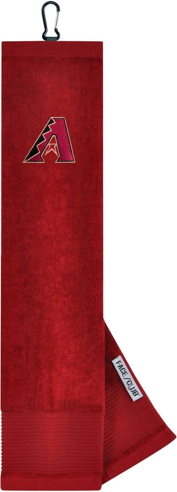 Team Effort Arizona Diamondbacks Embroidered Face/Club Tri-Fold Towel product image