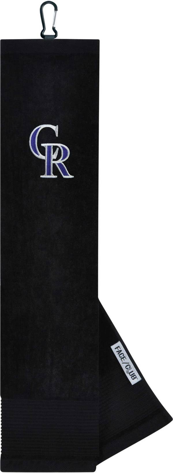Team Effort Colorado Rockies Embroidered Face/Club Tri-Fold Towel product image