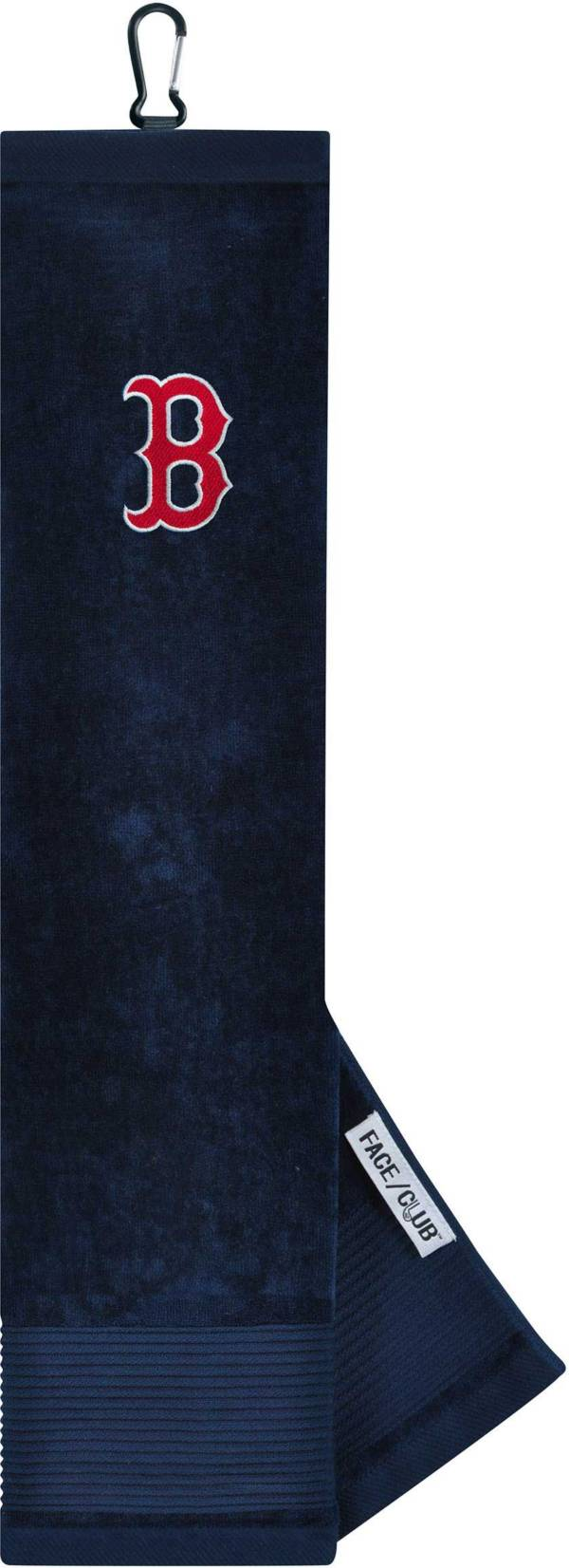 Team Effort Boston Red Sox Embroidered Face/Club Tri-Fold Towel product image