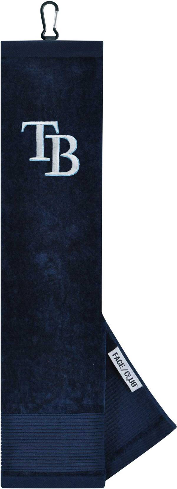 Team Effort Tampa Bay Rays Embroidered Face/Club Tri-Fold Towel product image