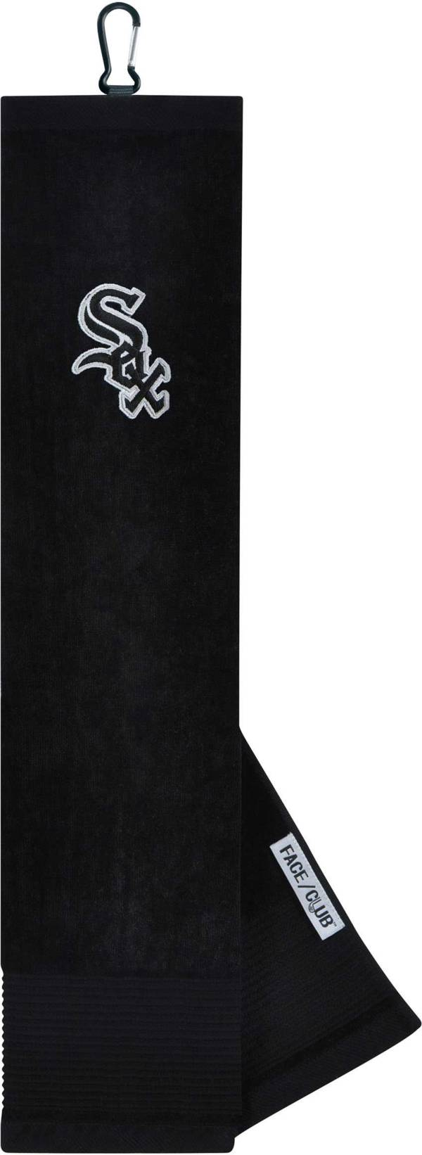 Team Effort Chicago White Sox Embroidered Face/Club Tri-Fold Towel product image