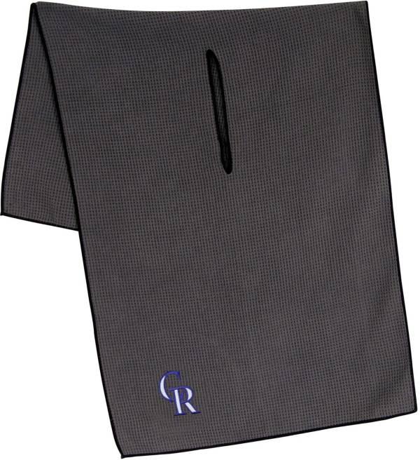 "Team Effort Colorado Rockies 19"" x 41"" Microfiber Golf Towel product image"