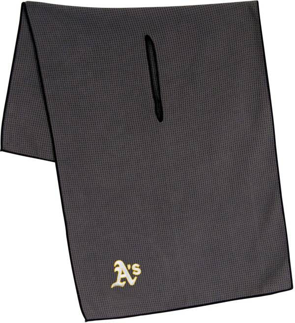 "Team Effort Oakland Athletics 19"" x 41"" Microfiber Golf Towel product image"