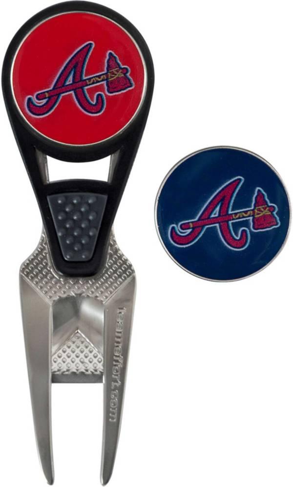 Team Effort Atlanta Braves CVX Divot Tool and Ball Marker Set product image